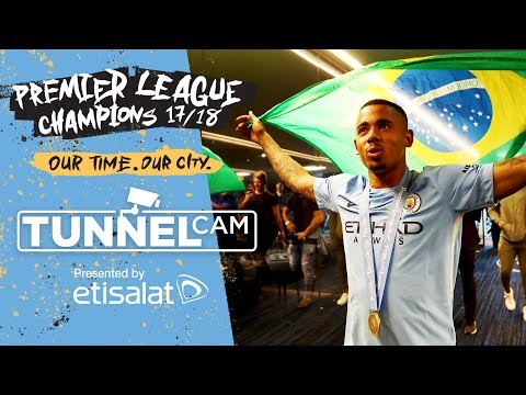 LIFTING THE TITLE! | Tunnel Cam | City 0-0 Huddersfield