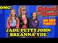 Sneaking ON SET to Visit JADE PETTYJOHN and BREANNA YDE at Nickelodeon's School of Rock