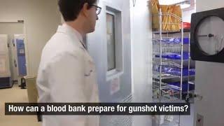 Gunshot Victims | Hospital Blood Bank Preparedness