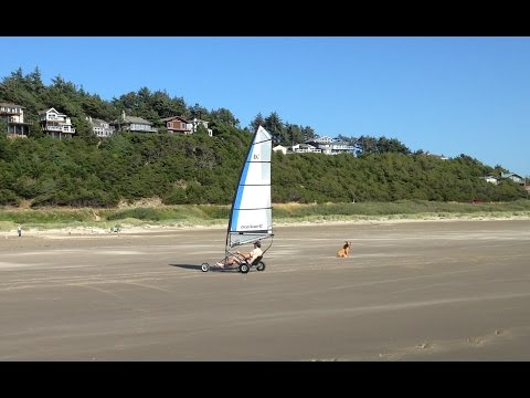 Land Sailing - Manzanita, Oregon