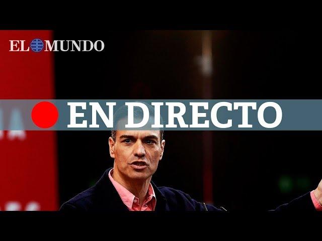 Sesión de investidura de Pedro Sánchez, en directo