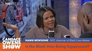 Candace Owens Debates Black Lives Matter Activist Hawk Newsome Over Voter ID