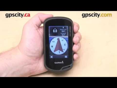 Garmin Oregon 600 Series: Compass Overview with GPS City