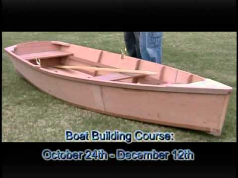 Kids can learn how to build a boat at the Cape Cod Maritime Museum