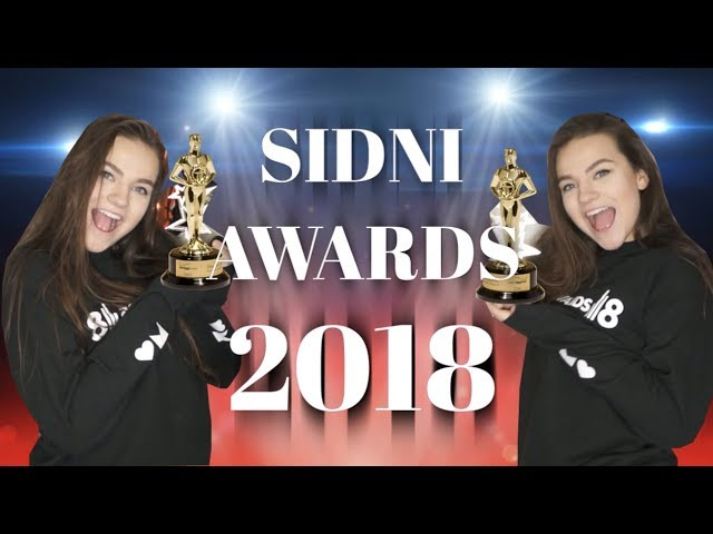 SIDNI YOUTUBE AWARDS 2018