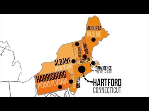 Northeastern Capitals & States