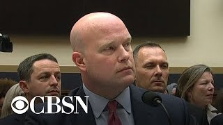 Rep. Hakeem Jeffries grills Matthew Whitaker