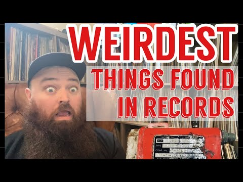 The Weirdest Things I've Found in Records