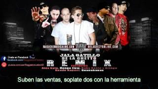 Letra - Jala Gatillo (Remix) - De La Ghetto ft. Varios Artistas © 2011