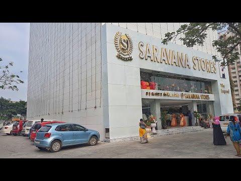 Exploring Saravana store Furniture shop at Padi, Chennai