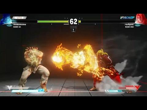SFV - Daigo Umehara (Ryu) vs. Rockpon (Ken) *Taiwan Top Player