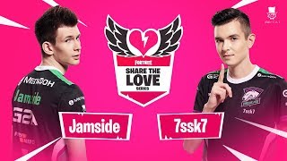 Jamside & 7ssk7 | Fortnite Share The Love Series