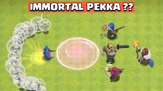 Making PEKKA IMMORTAL | PEKKA Vs Heroes | Clash of Clans