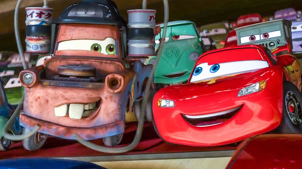Cars 2 All Movie Clips 2011 Youtube