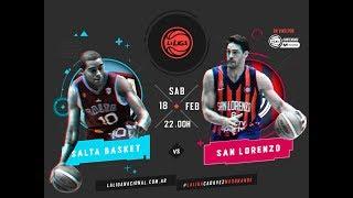 Liga Nacional Salta Basket vs. San Lorenzo LaLigaEnTyCSports