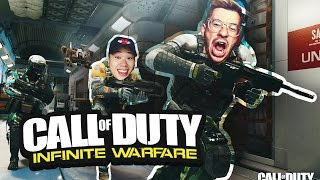 CALL OF DUTY INFINITE WARFARE MULTIPLAYER W/ DAVIDPARODY (WE'RE THE BEST OF ALL TIME)