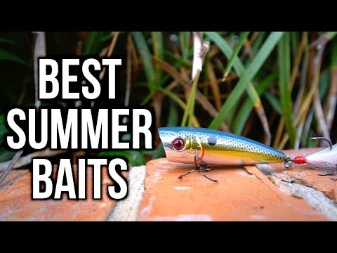BEST Summer Bass Fishing Lures 2017