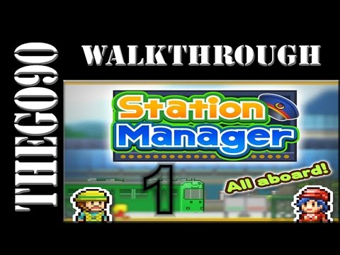 [Walkthrough] Station Manager [#1] Build our first Station