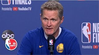 Steve Kerr confirms Kevin Durant will practice with the Warriors prior to Game 5 | 2019 NBA Finals