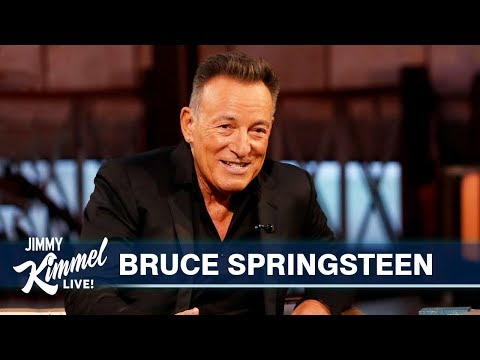 Marc 'The Cope' Coppola - Bruce Springsteen.  Great Interview With Jimmy Kimmel