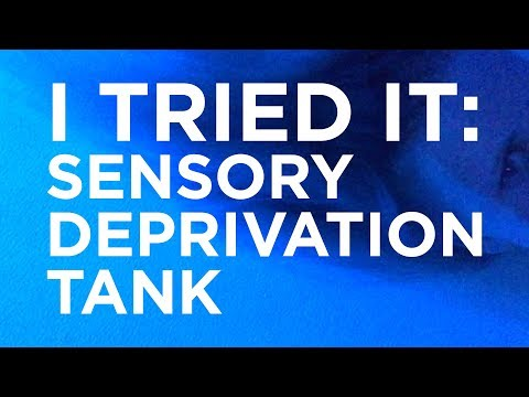 Flotation Therapy — Health Benefits of Sensory Deprivation