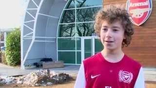 junior gunners visit london colney