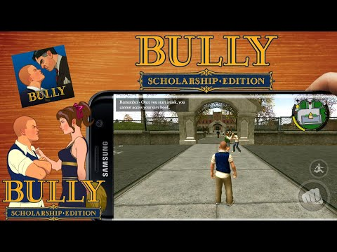 How To Download Bully Anniversary Edition For Android Apk/Obb 100% Work