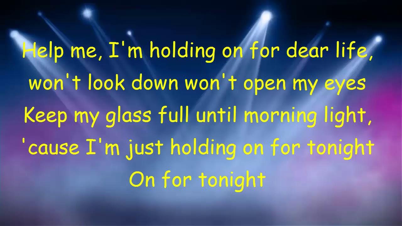 lirik lagu sia chandelier - YouTube