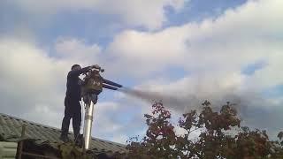 Фото Чистка дымоходовпечейкаминов вакуумом