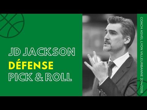 Défense sur Pick and Roll par JD Jackson