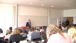 Top Executive Guest Speech with Andreas Kalusche at Campus Westend, May 15th, 2017
