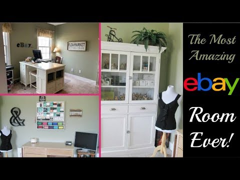The Most Amazing Ebay Room Ever A Look Inside An Ebay Seller S