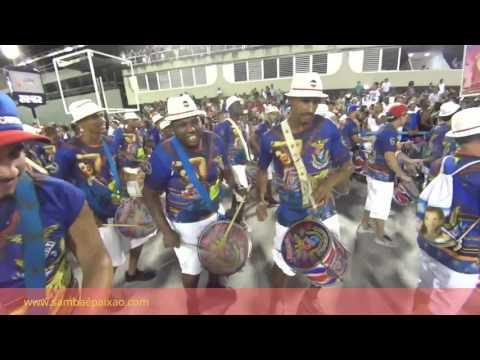 Ensaios Técnicos 2017: Atabaques da Baterrilha ecoam no coração da União da Ilha