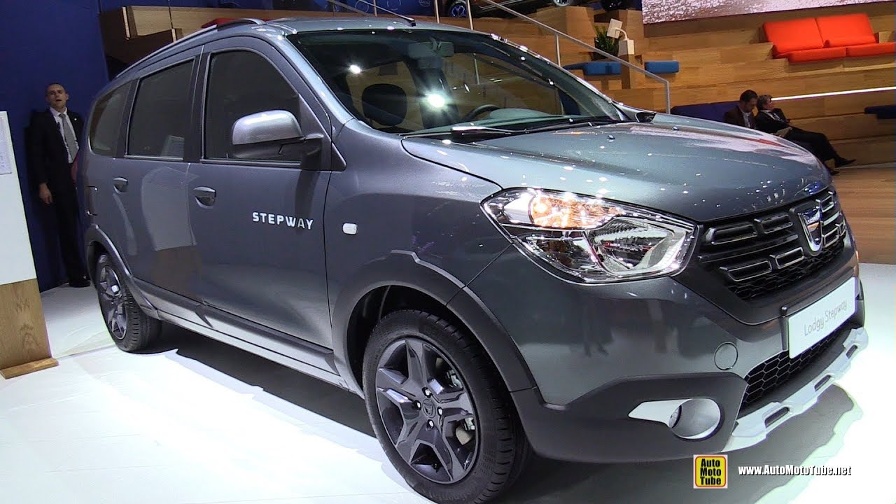 2018 dacia lodgy stepway exterior and interior walkaround 2017 frankfurt auto show youtube. Black Bedroom Furniture Sets. Home Design Ideas