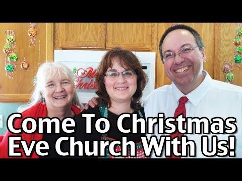 Join Us For Christmas Eve Church And Christmas Carols! LIVE 4 PM Mountain!
