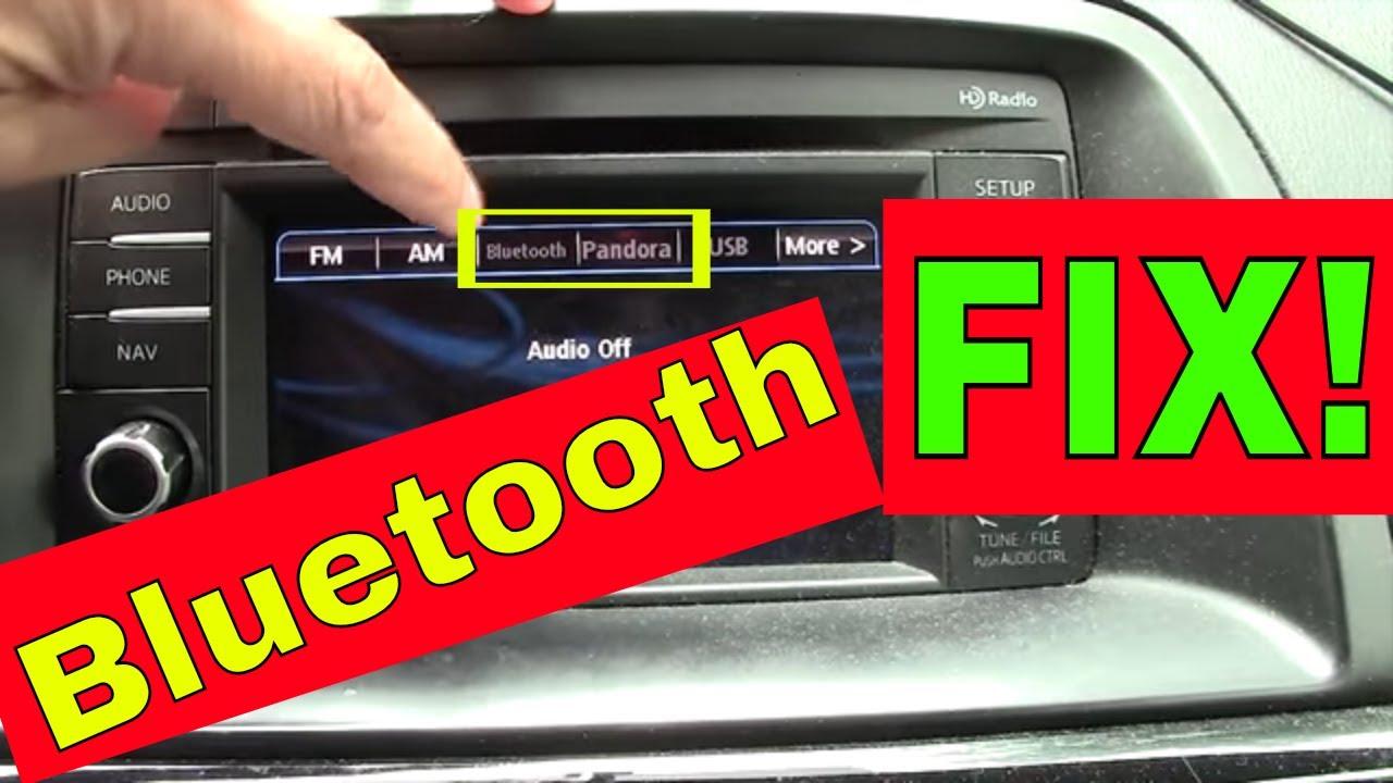 MAZDA Bluetooth SECRET FIX -- Fix or Pair Your Car Bluetooth in 20 Seconds  Flat
