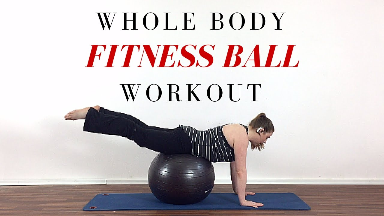 bd243812233 Stability ball exercises for beginners