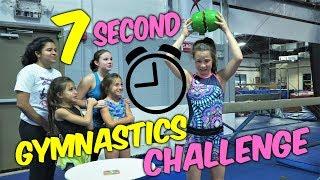 Gymnast VS Coach 7 Second Gymnastics Challenge| Rachel Marie