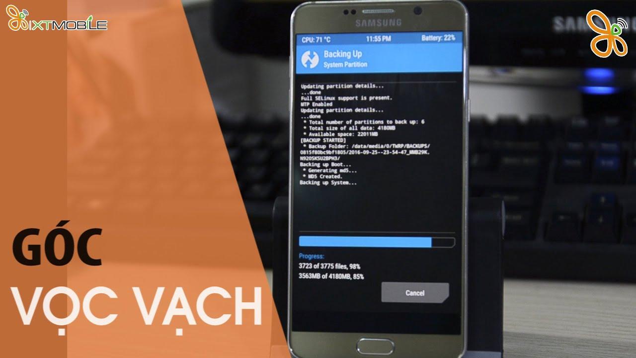 [Góc  Vọc Vạch] Hướng dẫn Up rom Note 7 cho Galaxy Note 5.