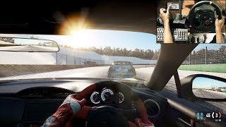 Toyota gt86  Snow Trackday at Spa - Project Cars 2 (logitech g29) gameplay