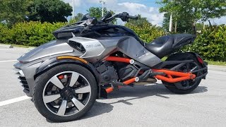 How to Ride a Can-Am Spyder