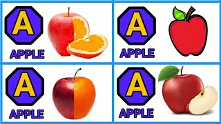 Part 64, a for apple b for ball, ABCD phonics, abcd English alphabet, su su tv kids, learn ABCD