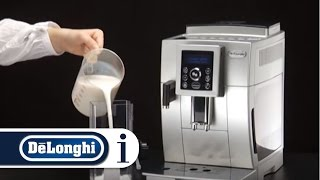 How to Make a Cappuccino and milk based coffee  in Your De