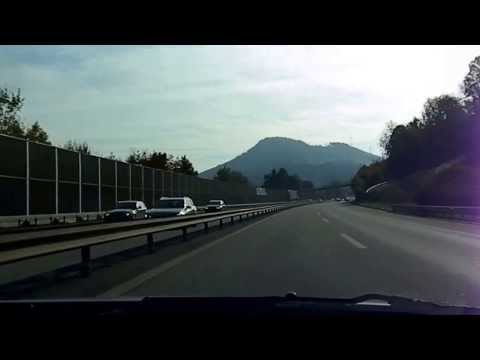 Autobahn fahrt / highway driving Basel-Zürich (Teil 1) Schweiz switzerland suisse svizzera