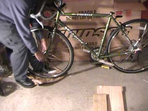 Windsor Tourist Bicycle Assembly Youtube