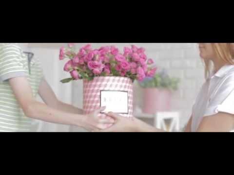 Рекламный ролик цветочного бутика Novel