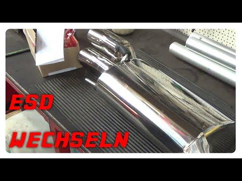 Auspuff Opel Corsa B Combo 1.4i Endschalldämpfer+MONTAGEWARE