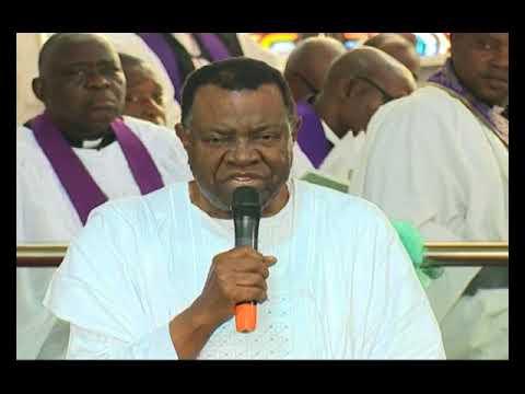 President Geingob attends Professor Adebayo Adedeji's burial in Nigerian -NBC