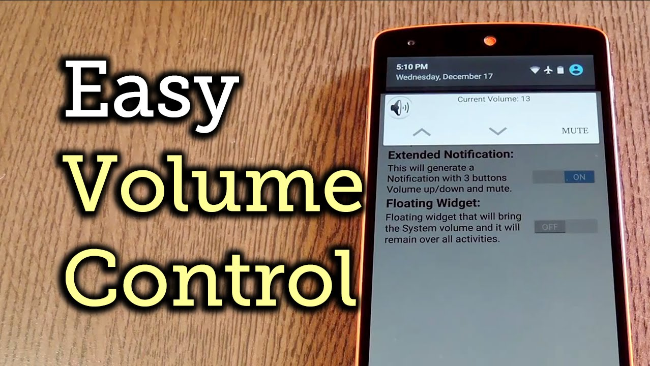 Easily Adjust Sound Levels on Android (Even with Broken