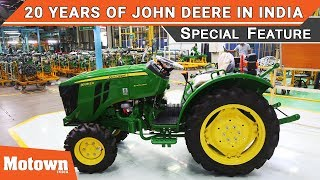 John Deere completes 20 years in India | Motown India